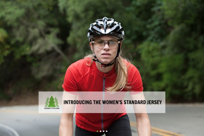 cedar womens merino wool cycling jersey