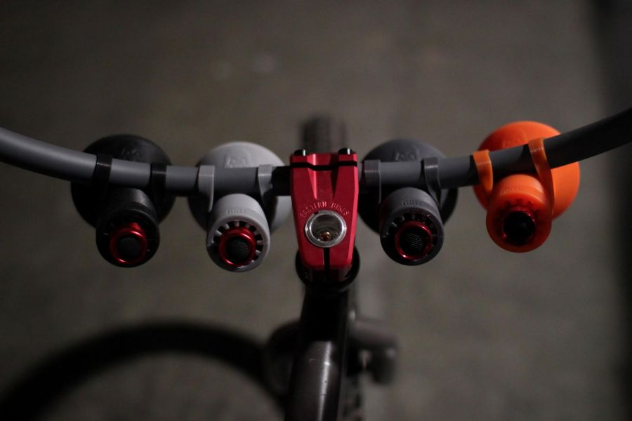 grit night shift bomber rally style bicycle lights