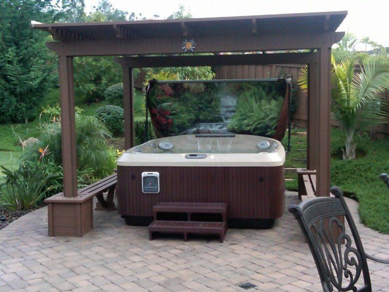 J-465™ Hot Tub Spas Jacuzzi® en extérieur Pinterest Hot tubs - jacuzzi exterior
