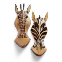 Zebra & Giraffe Wall Art | Culture Vulture Direct