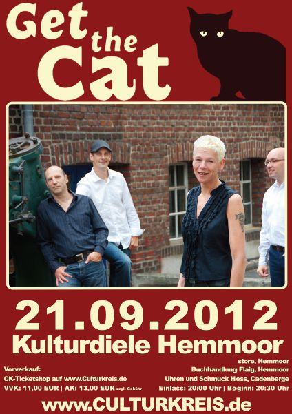 öfter Get the Cat @ Kulturdiele Hemmoor