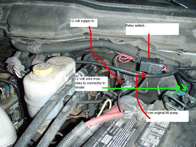 2004 dodge cummins fuel filter