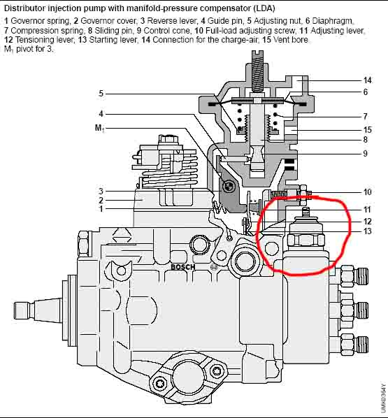 ve pump wiring diagram