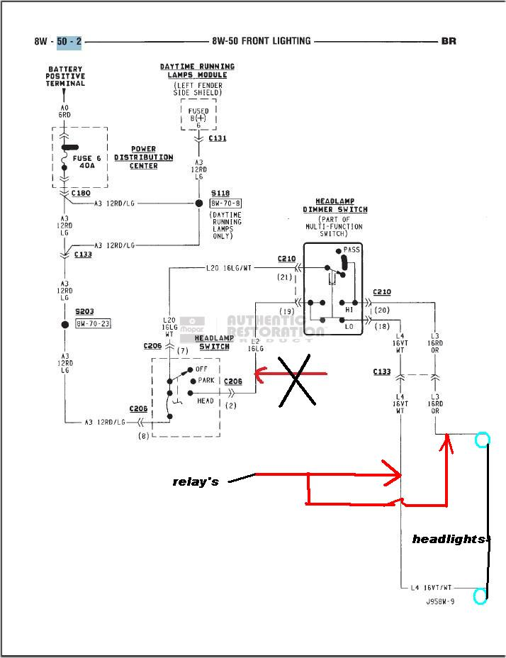 95 Dodge Ram 3500 Wiring Diagram