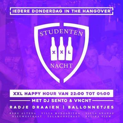 Student Night at Hangover Party Bar Curacao