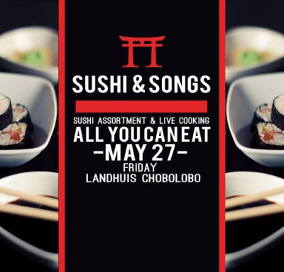 Sushi and Songs at Landhuis Chobolobo Curacao
