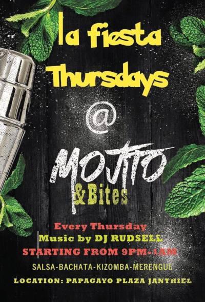 La Fiesta Thursday at Mojitos and Bites Curacao