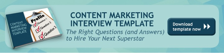 Interview Questions  Answers for Content Marketing Template - marketing interview questions