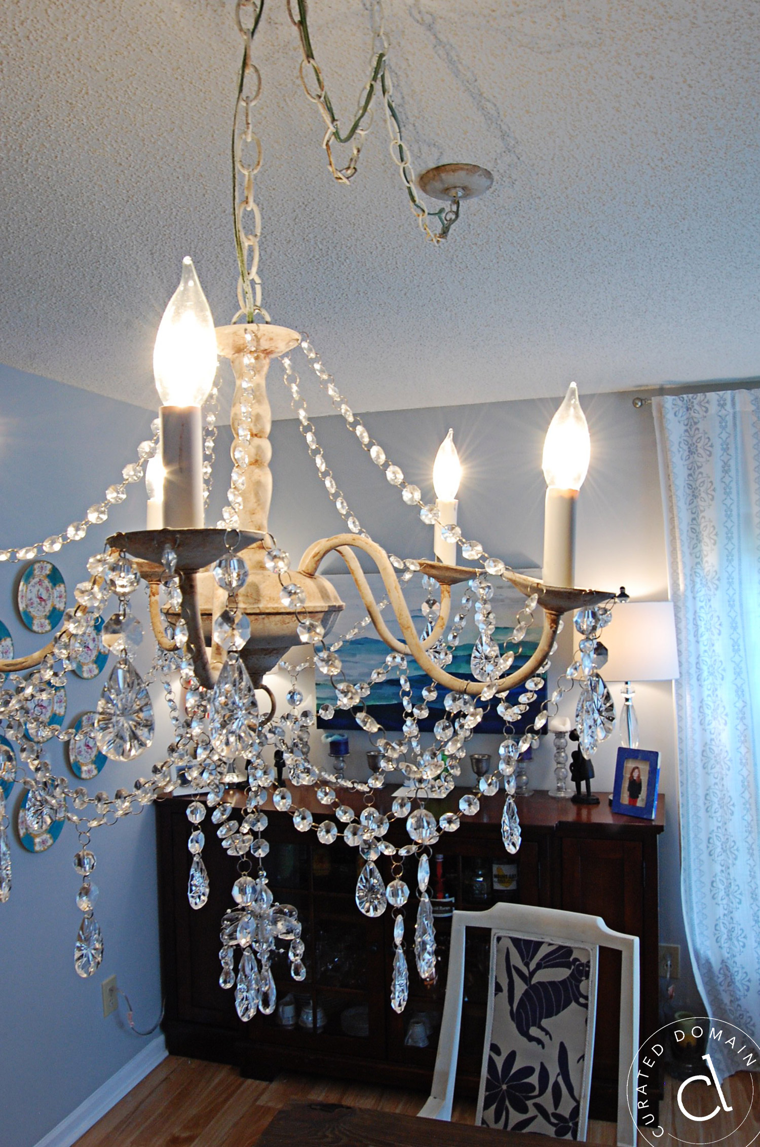 Rustic Glam Chandelier – Curated Domain
