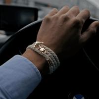Anchor Bracelet by Trashness