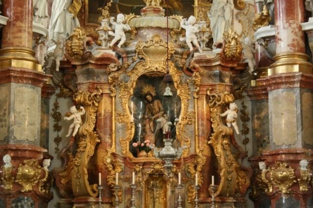 The Suffering Christ, The Weiskirche, Steingaden, Bavaria, Germany