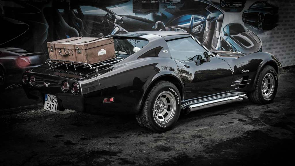 Wallpapers Of Car Corvette Convertible With Black Lights Pl8ster