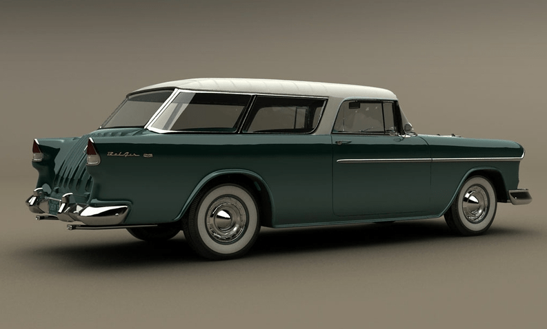 Classic Car Show Capsule 1955 Chevrolet Nomad Stealing