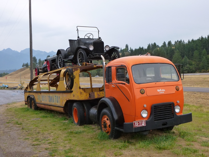 Half Truck Half Tractor Trailer Pick Up : Classic automotive history the rise and fall of