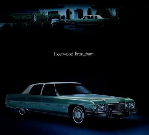 Cadillac 1973 Fleetwood brougham