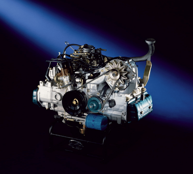 Vw 1600 New Engine: Trailhead Classic: 1978 Subaru BRAT