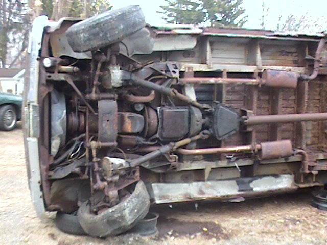 Cc Outtake 1980 Dana V Drive 4wd Gmc School Van A