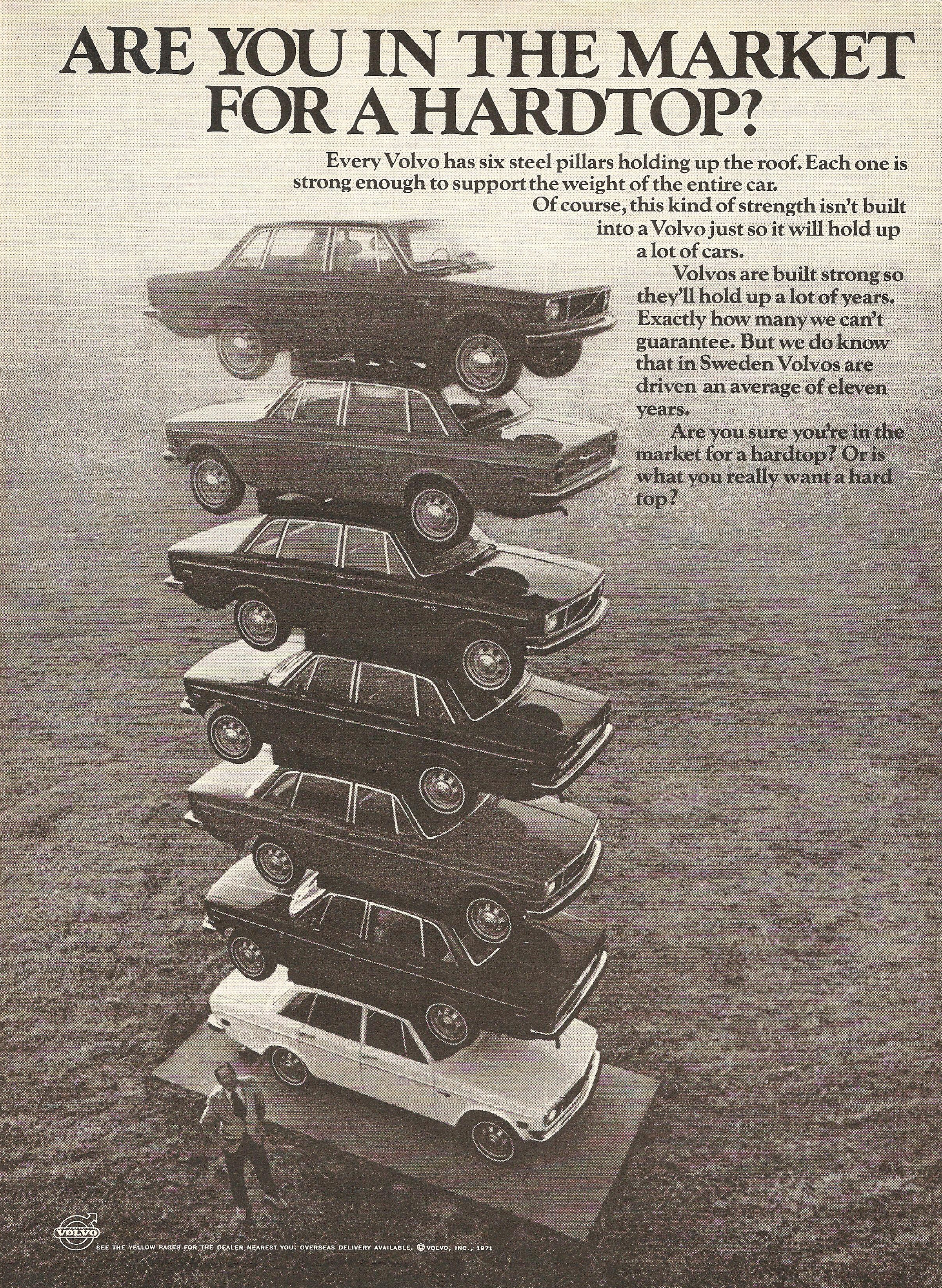 Classic Volvo Advertising of the 1970s