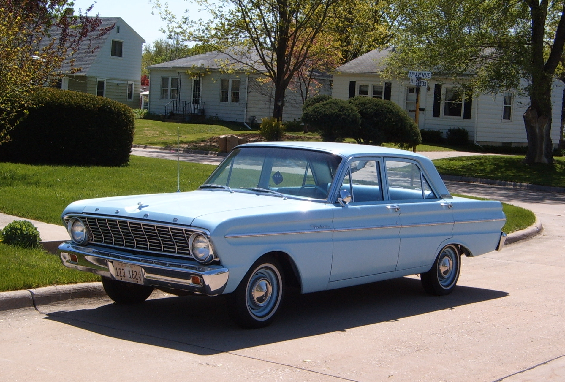 curbside classic 1964 ford falcon plain and simple. Black Bedroom Furniture Sets. Home Design Ideas