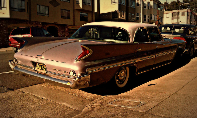 Curbside Classic 1960 Chrysler Saratoga Sedan Forward Fini