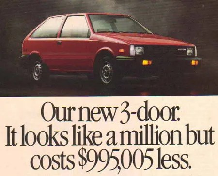 hyundai 1986-excel-advertisement