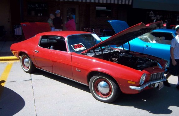 roll on, red Camaro