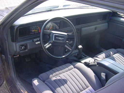 Ford 1983 Tbird int 2