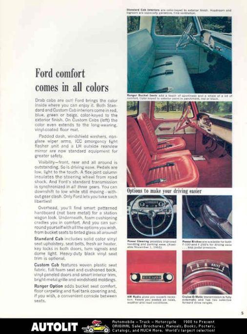 Ford Ranger 66 brochure