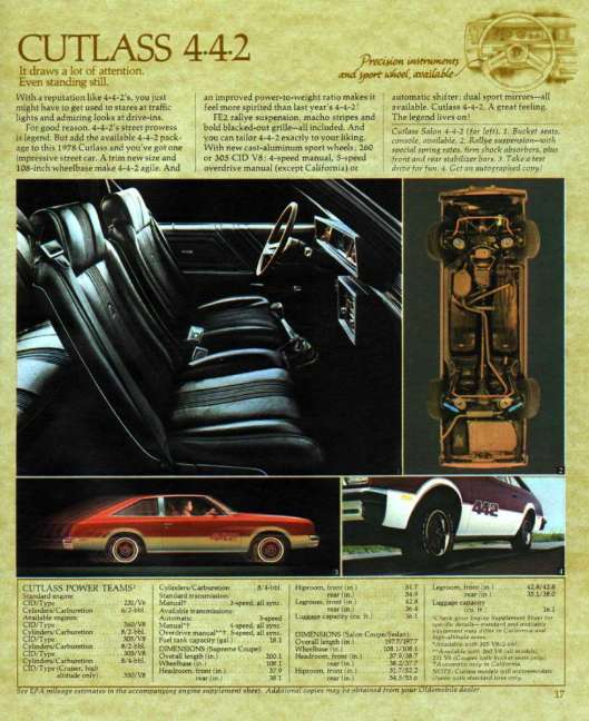 1978 Oldsmobile Mid-size and Compact-16-17 - Version 2