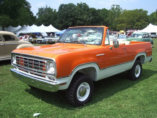 Dodge Ramcharger 1974 open