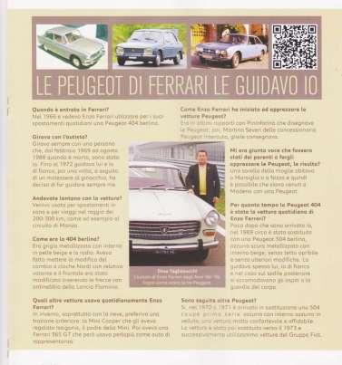 Ferrari & Peugeot 404 Club Storico Peugeot Italia primavera 2013