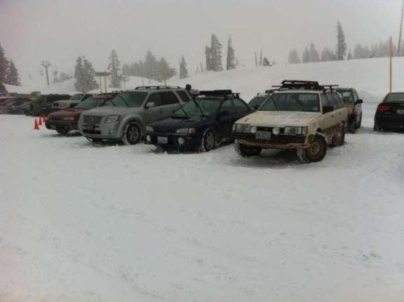 Mt Hood snow 2