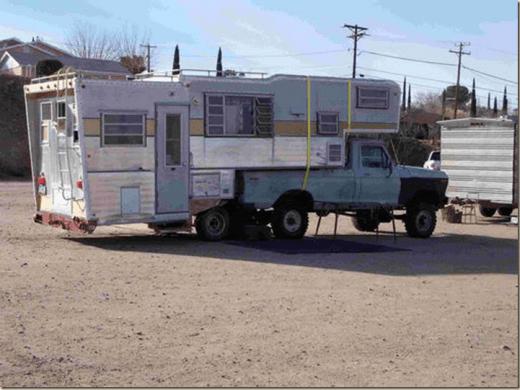 Camper oversized