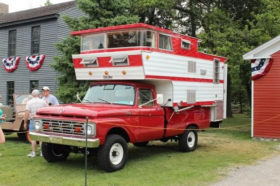 Ford Camper tall