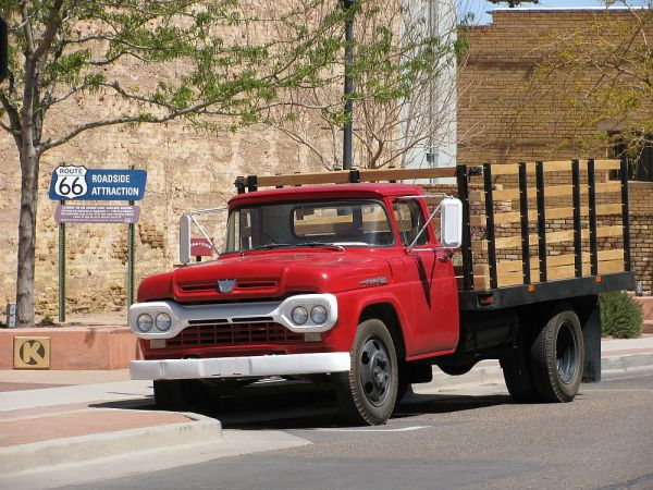 1960 Ford stake bed Winslow