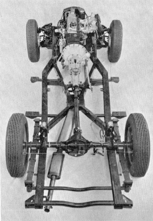 Triumph TR4 chassis