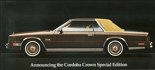 Chrysler 1980 Cordoba