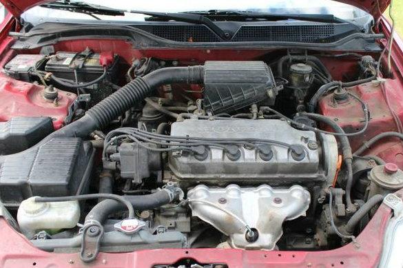Honda Civic engine
