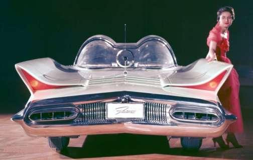 Lincoln Futura-rear