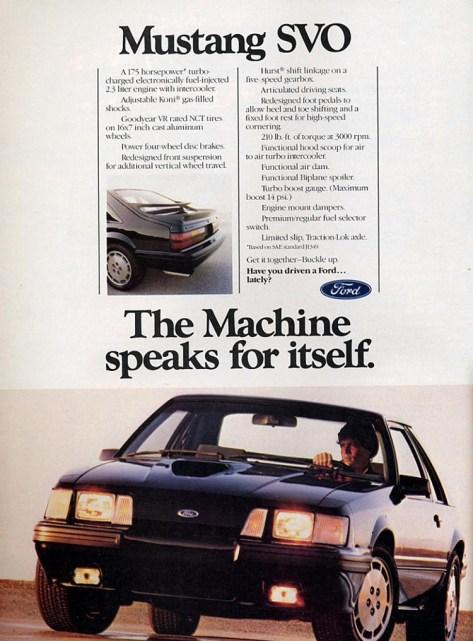 Mustang SVO 1984_Ad2
