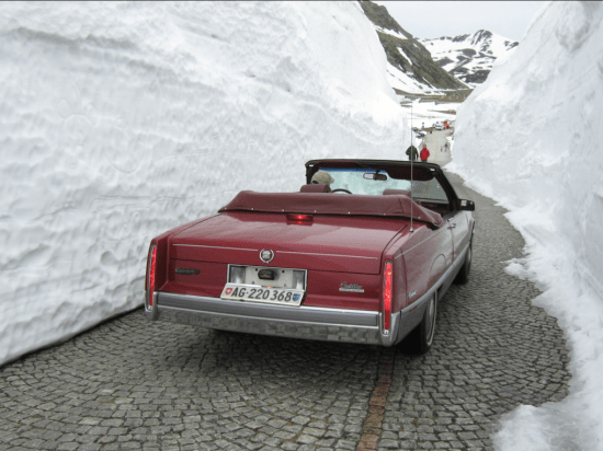 Cadillac Swiss red