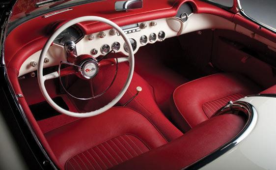 Corvette 1953 Roadster_Interior
