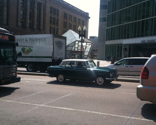 Rambler American 1962 side
