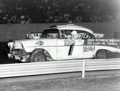 Chevrolet 1956 stock car racer