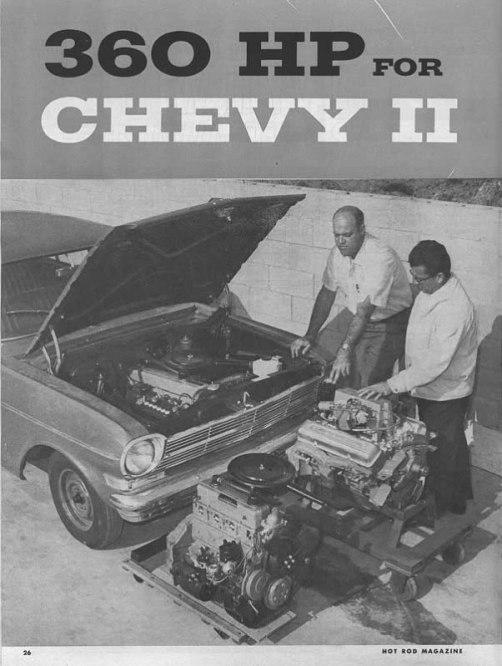 Chevy II engine swap