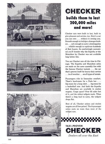 checker ad 1960