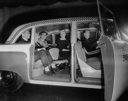 checker interior 1956
