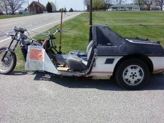 Pontiac Fiero trike 4