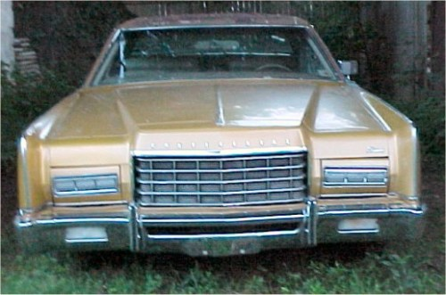 Lincoln 1973 google front
