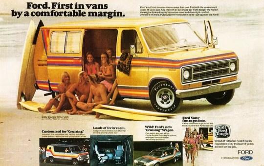 Van 1970s-ford-van